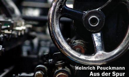 """""""Aus der Spur"""" von Heinrich Peuckmann ist erschienen"""
