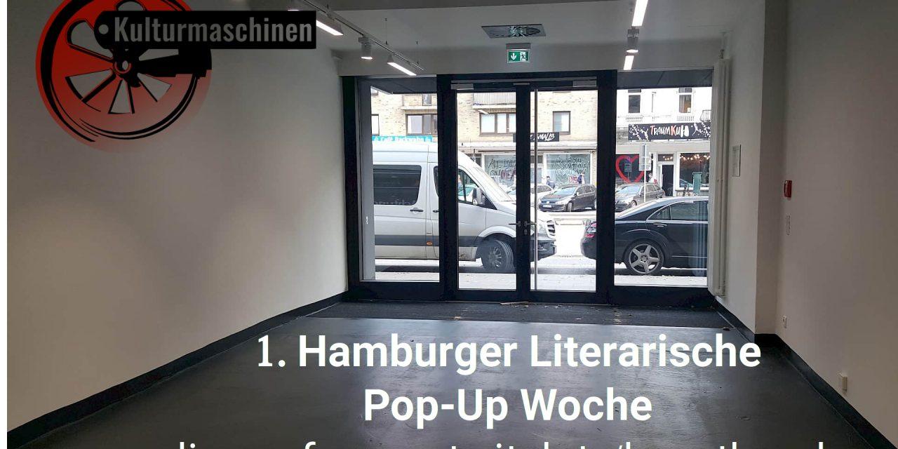 1. Hamburger Literarische Pop-Up Woche