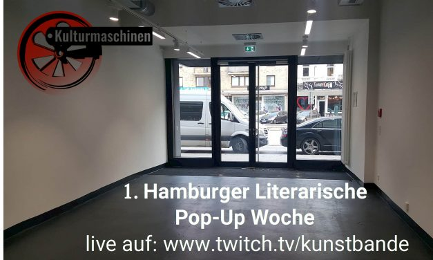 1. Hamburger Literarische Pop-Up Woche